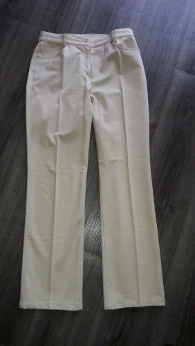Gardeur Jeans slim fit beige chiaro Cotone