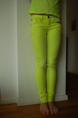 Jeanshose Gr. 32 Limonengrün Marke: one green elephant KOSAI