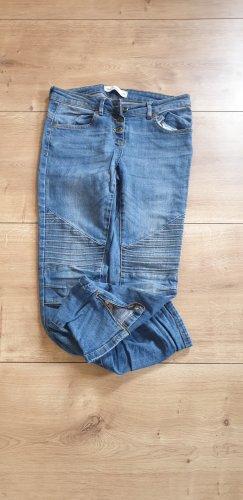 Blue Motion Spodnie rurki niebieski