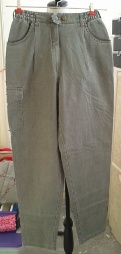 Carrot Jeans black-silver-colored