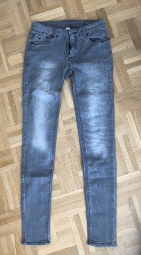 Jeanshose grau