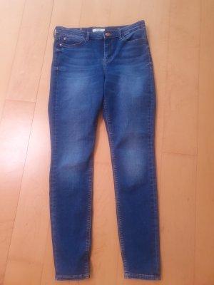 Guess Jeansy z prostymi nogawkami niebieski
