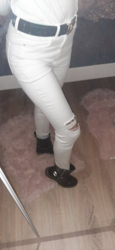 H&M Carrot Jeans white