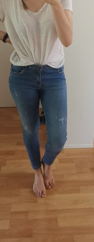 Jeanshose im leichten Used-Look