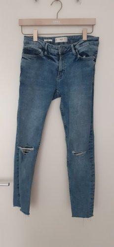 Mango Wortel jeans veelkleurig