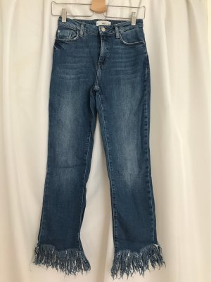 Mango Denim & Tees Tube jeans blauw