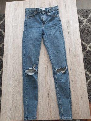 Jeanshose mit hohem Bund Topshop