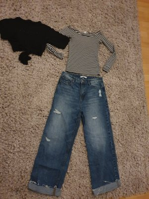 JDY denim Jeans flare multicolore