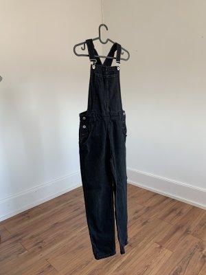 Salopette en jeans noir