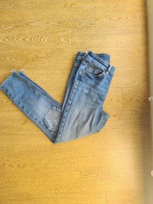 Pieces Stretch Jeans cornflower blue