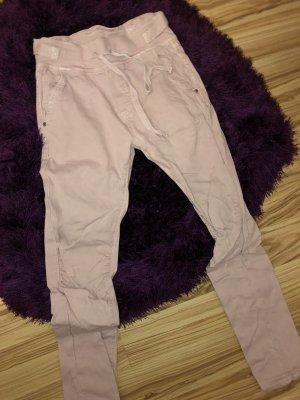 AG Jeans Spodnie rurki różowy