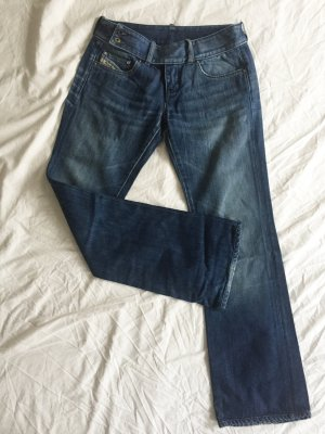 Diesel Industry Denim Flares multicolored cotton