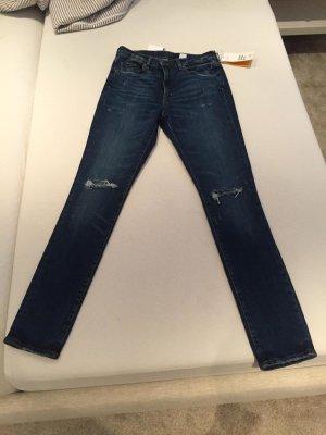 Jeanshose Skinny high waist