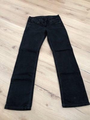 Soccx Stretch jeans zwart