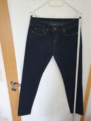 Jeanshose Stretch dunkelblau Größe 38 gebraucht aber sehr guter Zustand