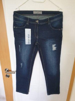 Jeanshose Stretch dunkelblau Größe 42 neu mit Etikett