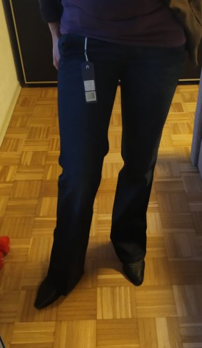 G-Star Jeans flare bleu foncé tissu mixte