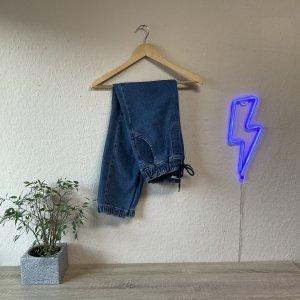 addax Jeansowe karoty niebieski-chabrowy