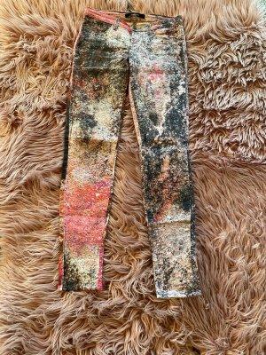 1 brand Skinny jeans veelkleurig Katoen