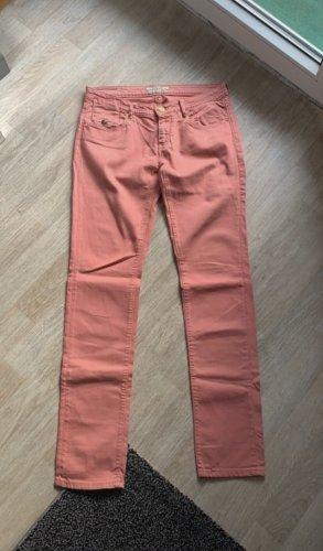 Maison Scotch Pantalón elástico rosa
