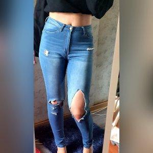Tally Weijl Jeans a vita alta blu