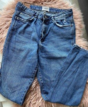 Zara Slim jeans blauw