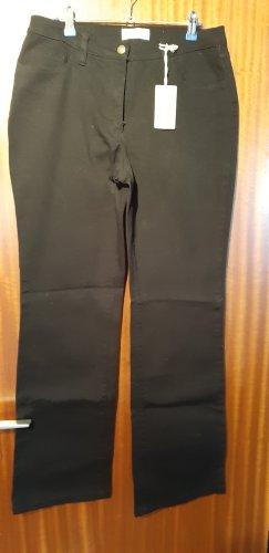 John Baner Pantalone a vita alta nero Cotone