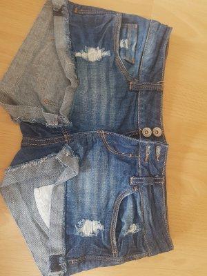 Tally Weijl Pantalón corto azul oscuro