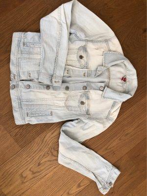 H&M Divided Veste en jean bleu clair