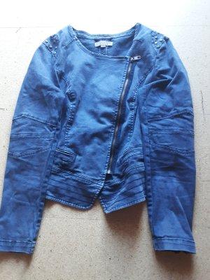 Comma Jeansowa kurtka niebieski