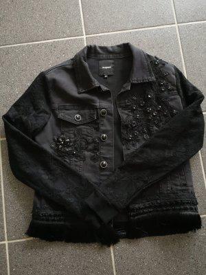 Desigual Veste en jean noir