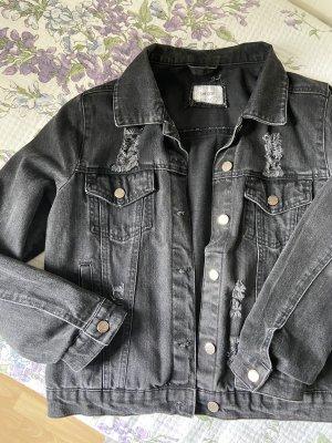 Denim Jacket dark grey