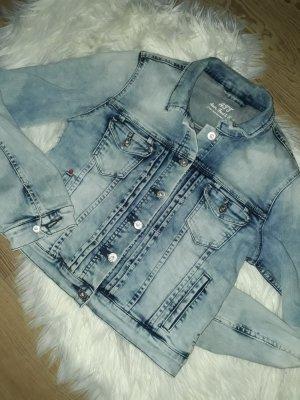 ATT Jeans Jeansowa kurtka niebieski