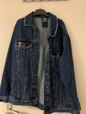 Bershka Denim Jacket blue