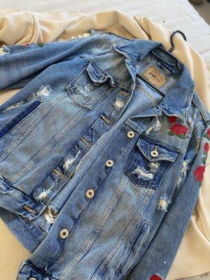 FB Sister Denim Jacket multicolored
