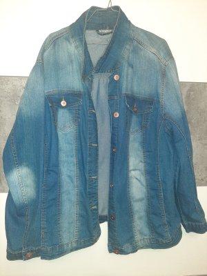 Jeansjacke 56/58 blue bleached