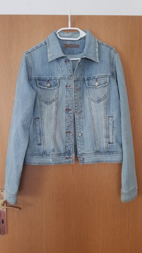 AWG Mode Denim Jacket light blue