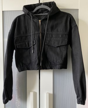 Boohoo Denim Jacket black