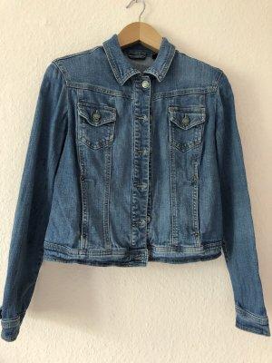 Tchibo / TCM Denim Jacket steel blue cotton