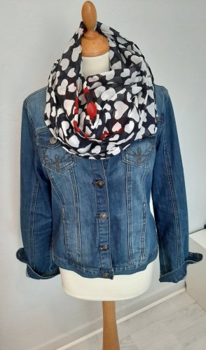 Anne L. Denim Jacket blue cotton