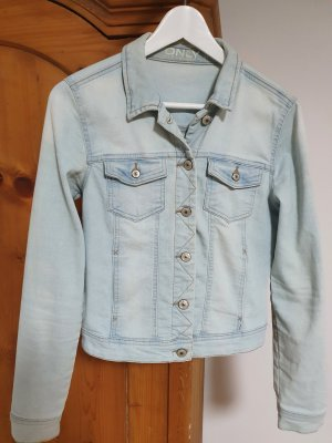Be only Veste en jean bleu clair