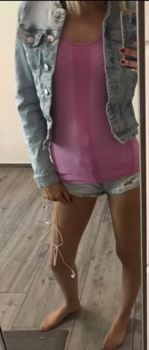 Only Veste en jean bleu clair