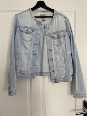C&A Clockhouse Jeansowa kurtka błękitny