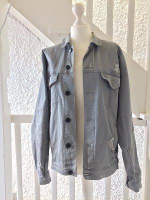 Cayler & Sons Denim Jacket light grey-pale blue