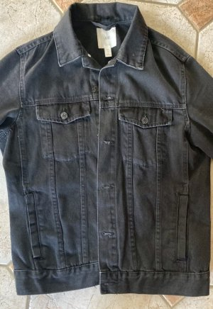 H&M Denim Jacket black