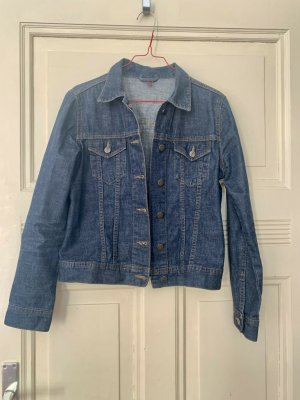 H&M Divided Denim Jacket steel blue cotton