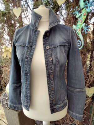Benetton Jeans Denim Jacket blue