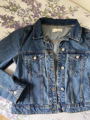 Mango Denim Jacket blue