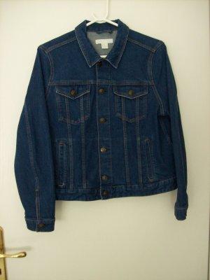 H&M Denim Jacket dark blue cotton