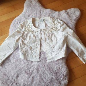 Gilet en jean blanc